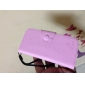 Cute Grass Pattern PU Leather Case with Card Slot for iPhone 5/5S (Assorted Colors)