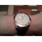 Julius Men's Watch Dress Watch Calendar Water Resistant Leather Band