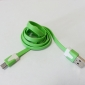 Noodles-like Micro Usb Cable for Samsung S4 I9500/S3 I9300 (Assorted Colors)