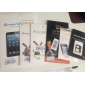 Protetor de Tela Anti-Espiacom Pano de Limpeza para iPhone 5