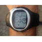 Men's Watch Sports Heart Rate Monitor Calories Counter Silicone Strap