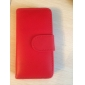 PU Leather Case with Card Slot and Wallet for iPhone 5/5S (Assorted Colors)