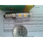 LED лампа для холодильника (220V), теплый белый свет E14 1W 7x5050 SMD 60-80LM 2800-3200K