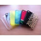 Protective Hard Case with Crystals for iPhone 4 (Black)
