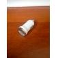 mini caricatore dell'automobile del usb per il iphone iphone 6 6 più (bianco)