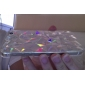아이폰 5/5S를위한 투명한 입체 삼각형 하드 케이스