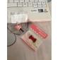 strik stijl anti-stof koptelefoon aansluiting voor iPhone 4 en 4s (verschillende kleuren)