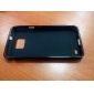 Protective TPU Leather Case for s2/i9100 - Black