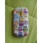 Owl Pattern Hard Case för Samsung Galaxy S3 Mini I8190