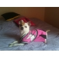 Dog Dress / Shirt / T-Shirt Pink Summer / Spring/Fall Geometic / Letter & Number Fashion