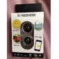 3-in-1 0.67X Wide Angle and Macro Lens and 180 Degree Fish Eye Lens for 4/4S, iPad and Other Cellphone