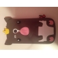Crown Pig Pattern Silicone Soft Case for Samsung Galaxy S3 mini I8190