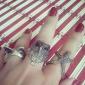 Aleación de la vendimia del buho del anillo del patrón lindo