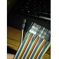 Han til han Breadboard ledninger til Elektronisk DIY 22cm
