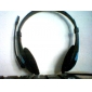 LP LPS-1007 Headphone 3.5mm Over Ear Ergonomic Stereo with Microphone Volume Control Gaming Skype for PC/Laptop