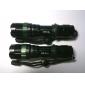 Saik SA-9 3-Mode Cree XR-E Q5 LED-taskulamppu (3xAAA/1x18650, musta)