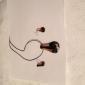 Streamline brun doré Vaidurya collier et boucles d'oreilles de femmes