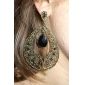 Vintage princesa persa resina Gem-Studded Pendientes