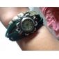 kvinder sommerfugl vedhæng læder band kvarts analog armbånd ur (assorterede farver)