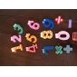 Funny Math Symbol Wooden Fridge Magnets Educational Toy (12-Pack)