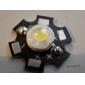 epistar 6000-6500k 3w 170 190lm 700mah 흰색은 알루미늄 판과 전구 (3.4-3.8v)를 주도