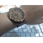 kvinners kvarts analog bronse tilfelle pu bandet armbåndsur (assorterte farger)