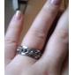 Eruner®Unisex Metal Chains Titanium Steel Ring