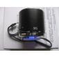 bärbar cylinder style multimedia högtalare (blandade färger)