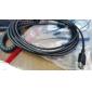 3m cabo extensão USB 2.0 (af, preto)