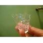 Siisti pääkallon muotoinen kristalli snapsilasi