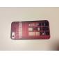 colorido patrón de puntos redondos caso suave de TPU para el iphone 5/5s