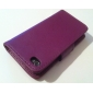 Elegant PU Leather Case for iPhone 4 and 4S (Assorted Colors)