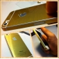VORMOR® Gold Hardcover  Back Screen Protector  for iPhone 5/5S