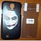 JOKER Projeto Hard Case com protetores de tela de 3-Pack para Samsung Galaxy i9500 S4
