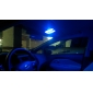 T10 0.72W 28x3528SMD 50LM Blue Light LED Bulb for Car (12V,2 pcs)