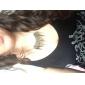 punk lureme®gothic stile vintage bronzo collana picco nappa girocollo