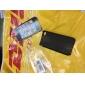 아이폰4/4S용 매우 얇은 무광 고무 메쉬 하드케이스 커버 (Black)