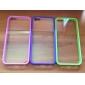 Funda Dura de Diseño Transparente para iPhone 5/5S (Varios Colores)