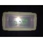 impermeabile batteria in plastica traslucida per 18650,16340 batteria (bianco)