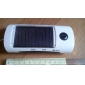 3-in-1 Solar Charger, LED Flashlight and FM Radio for iPhone/iPad
