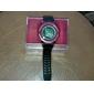 pression atmosphérique multi-fonctionnel rouge cas en caoutchouc noir bande numérique montre-bracelet des hommes
