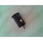 Cargador de Coche a USB  de 5V - 1 A + Adaptador (CC 12V)