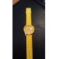Unisex  Analog Quarz-Armbanduhr aus Kunststoff (verschiedene Farben)