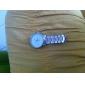 Männer einfache Wahl Silber-Legierung Quarzarmbanduhr (farblich sortiert)
