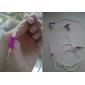 moda fones-de-rosa para iPod e MP3