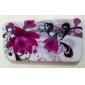 Lotus Flower Pattern Style Protective Case for iPhone 4 and 4S (Multi-Color)