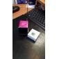 Mini Cube Digital FM Radio Speaker (MicroSD Reader, USB, FM Radio, Assorted Colors)