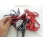 Double Color Stripe bowknot Krawatte für Haustiere Hunde Katzen (Hals: 26-38cm)