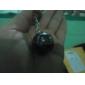 Crystal Ball Compass Keychain