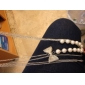 3 Layers Pearl Bowknot Long Necklace